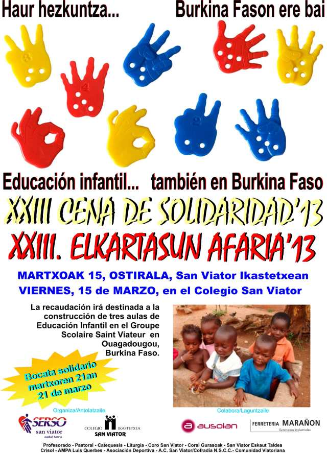 CenaSolidaridad 2013
