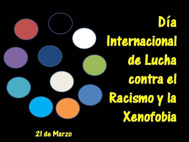 Día Internacional contra el racismo y la xenofobia
