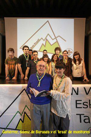 45 AÑOS SCOUT DE SAN VIATOR. Vitoria, 22-06-2013. Fotografia Rafa Gutierrez
