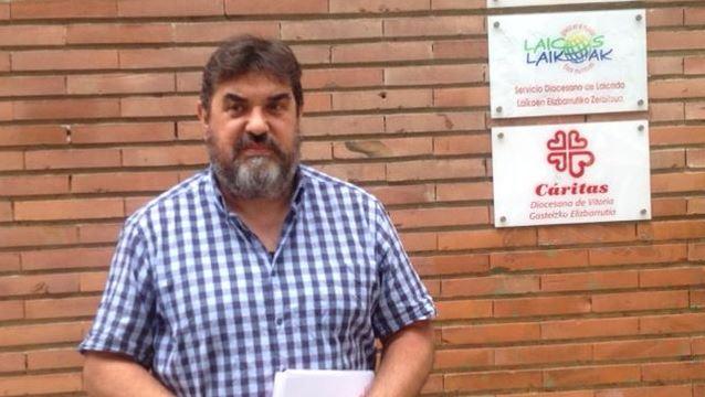 Ramón Ibeas, secretario General de Cáritas-Araba